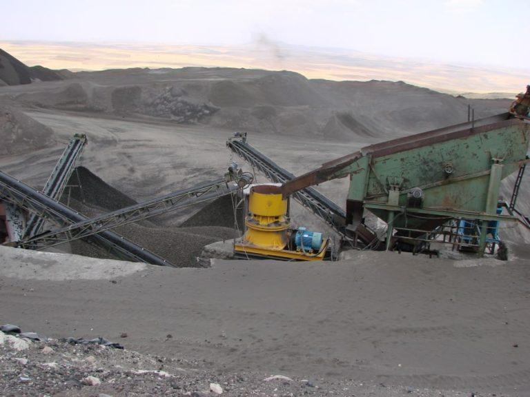 خدمات شرکت پوکه معدنی